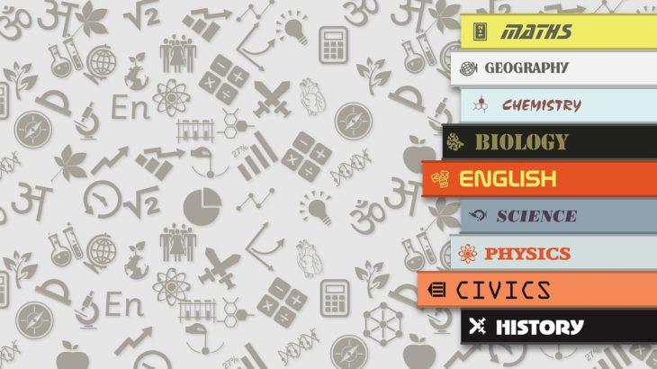 英作文・自己紹介で使える!教科・科目の英語一覧と問題