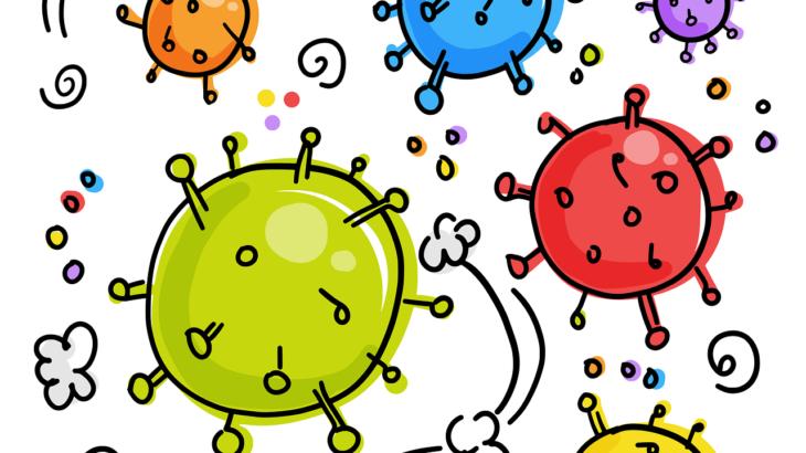 ウイルスと細菌の違い、感染症について